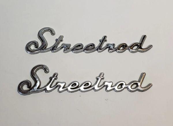"""1 SET of """"Streetrod Emblems"""" for *Art panels*"""