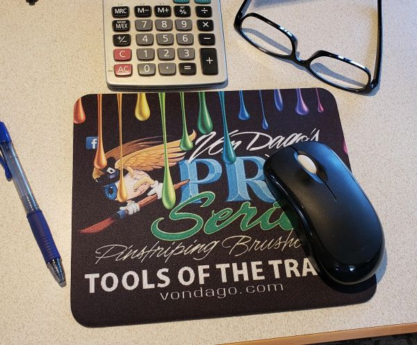 "Pro Series Dripped ""ORIGINAL Logo"" Mouse pad"