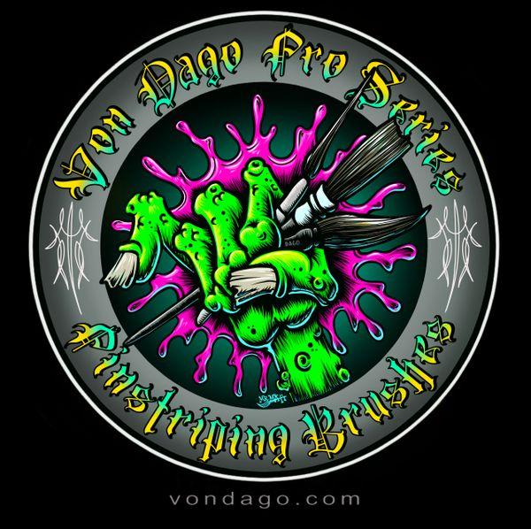 Monster Hand Logo #1 (Mint & White)