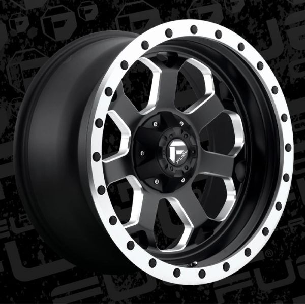 Fuel Offroad D565 Savage Wheels