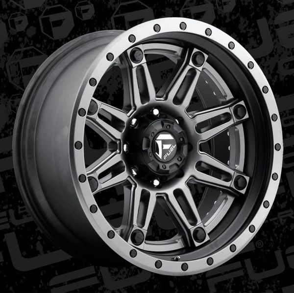 Fuel Offroad D232 Hostage II Wheels