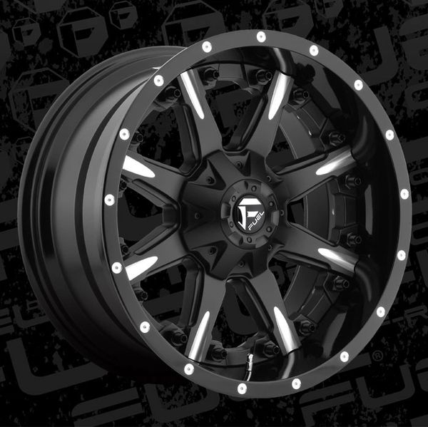 Fuel Offroad D251 Nutz Wheels