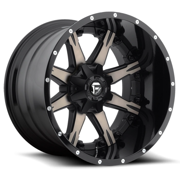Fuel Offroad D252 Nutz Wheels