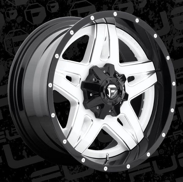 Fuel Offroad D255 Full Blown Wheels