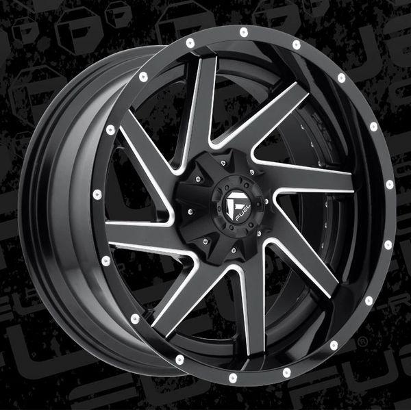 Fuel Offroad D265 Renegade Wheels