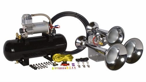 Outlaw Chrome 228CX Train Horn Kit