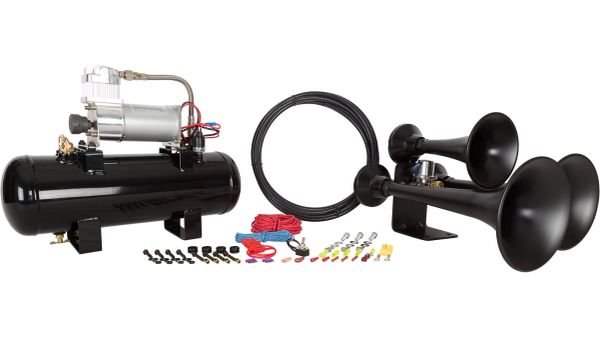 Outlaw 228 Black Train Horn Kit