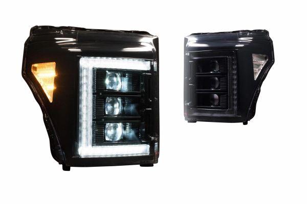 11-16 FORD SUPER DUTY XB LED HEADLIGHTS
