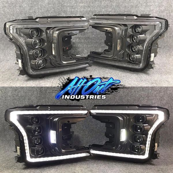 2018+ F150 Morimoto XB LED Headlights