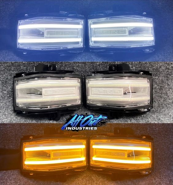 2017+ Superduty Switchback Mirror Lights