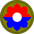 9th Infantry Division Patch