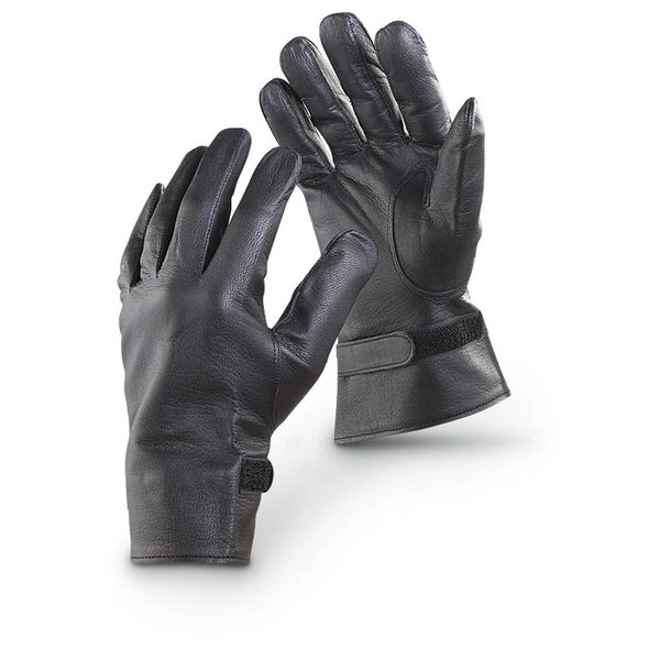 USN Dress Gloves Black.