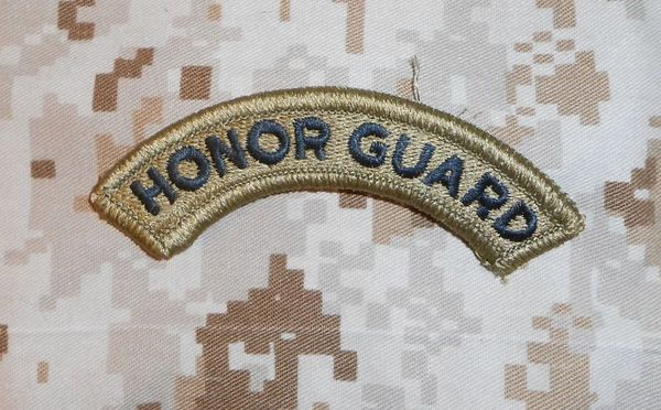 Honor Guard Tab in OCP