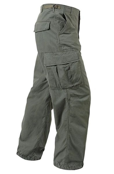 Vietnam Era M64 OD Green pants 6 pocket