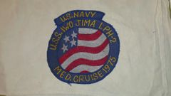 US Navy Mediterranean Cruise patch from 1975