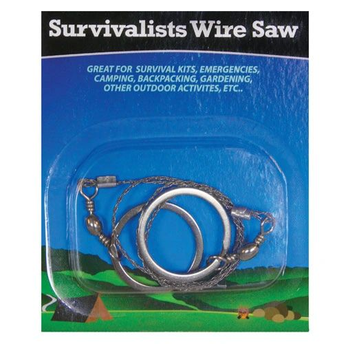 Deluxe Survival Wire Saw