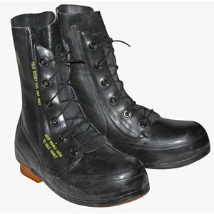 "Black Excw ""mickey mouse"" USED Boots Surplus Condition without valve"