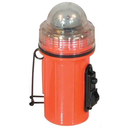 Orange Strobe Light