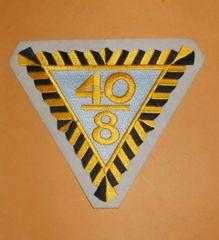 "WW1 40 men or 8 horses Box Car American Legion Color Patch ""40 & 8"""