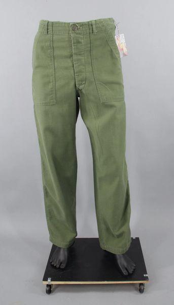 Vietnam Era OD Green pants 4 pocket