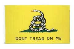 3'x5' Don't Tread on me Flag (Gadsten Flag)
