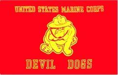 3'x5' USMC (Devil Dogs) Flag