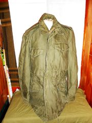 M-1951 Field Jacket, Original, date 1952 size Small long