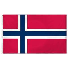 NORWEGIAN NATIONAL 3'x5' Flag
