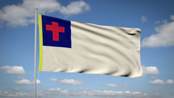 CHRISTIAN CHURCH 3'x5' Flag