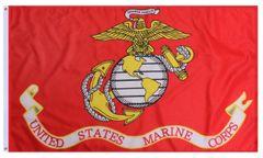 "27""x41"" USMC (Globe and Anchor) Banner"