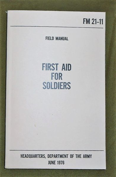 First Aid For Soldiers June 1976