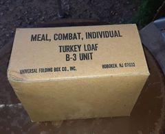 Post Vietnam Era C-Rations individual meal