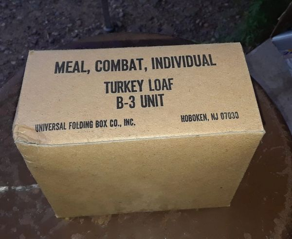 Post Vietnam Era C-Rations individual meal