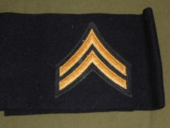 SGT of the Guard Acting CPL Stripes Arm band