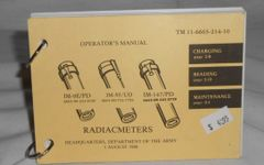 Radiacmeters Operators Manual