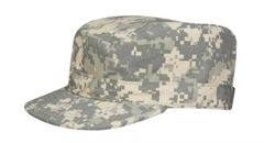 ACU pattern hat, patrol cap.