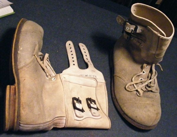 WW2 Vintage Cold Weather Boots (Bunny Boots)