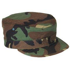 Woodland BDU Patrol Cap hat cover