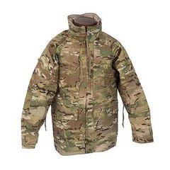 U.S. Military Surplus Primaloft Hooded Jacket, New Size 2xl