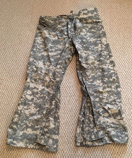 ACU Trousers, Improved Rainsuit. Size Large