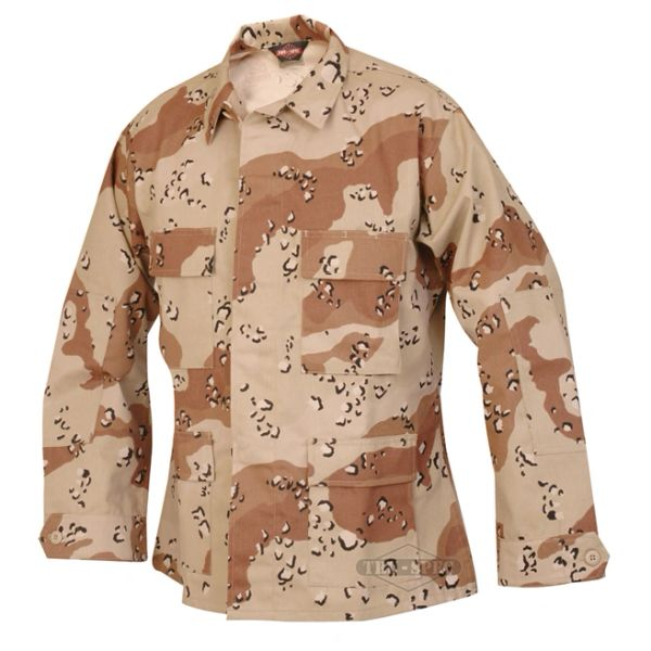 6 color Desert Combat Uniform (DCU) Jacket (Chocolate chip)