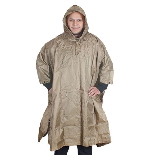 Poncho olive drab color civilian version