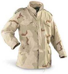 used Desert Camouflage, BDU M-65 Field Jacket