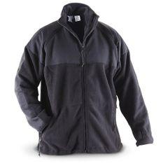 U.S. Military Surplus Polartec Fleece Jacket, Used