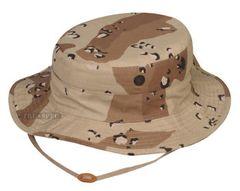 Boonie Hat Desert 6 Color Chocolate chip pattern