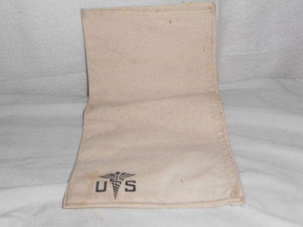 WW2 Hospital personal effects bag