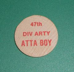 Vintage Challenge coin #10, 47th Infantry Division ATTA BOY