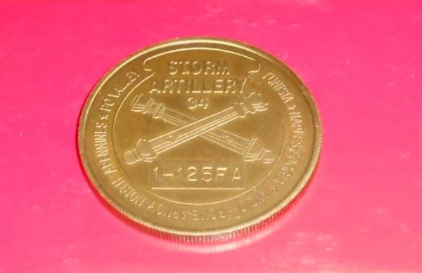 Vintage Challenge coin #11, 34th Infantry Division Artillery