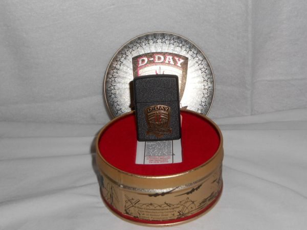Commemorative D-Day WW2 ZIPPO Lighter