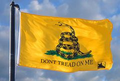 2x3' Don't Tread on me Flag (Gadsten Flag)